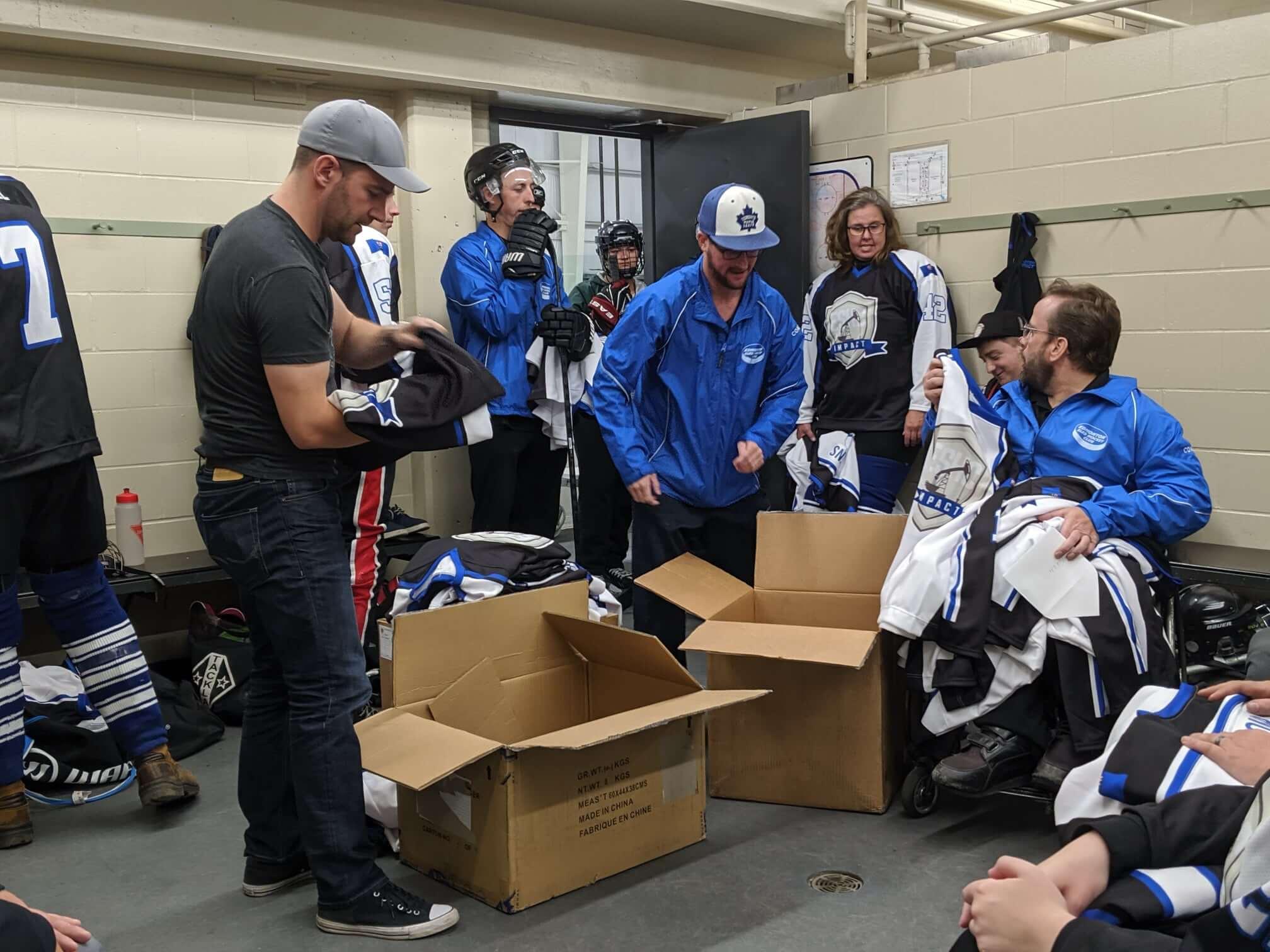 Edmonton Sled Hockey Club