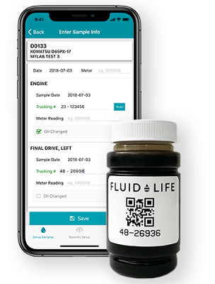 myLab App and Bottle