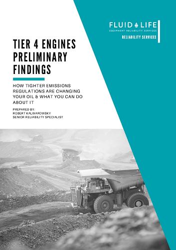 Tier 4 Engines prelim findings