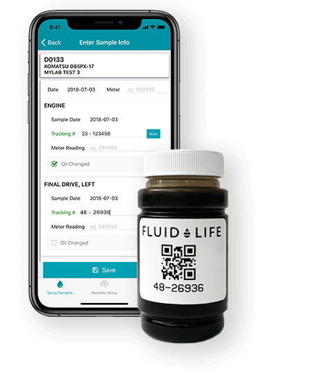 Fluid Life Bottle and app