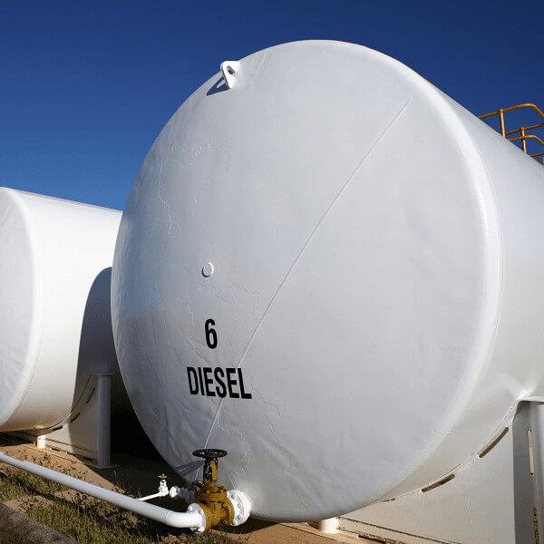 Diesel Fuel Testing Bulk Tanks